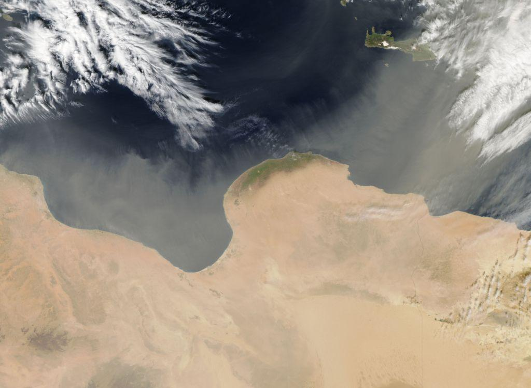 Έρχεται ξανά αφρικανική σκόνη. Το φαινόμενο θα είναι έντονο μέχρι την Δευτέρα