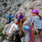 Σχολή αναρρίχησης βράχου για αρχάριους από τον Ορειβατικό σύλλογο