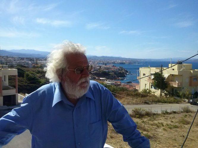 Στην Κρητική Εστία παρουσιάζεται η ποιητική συλλογή του Βαγγέλη Κακατσάκη