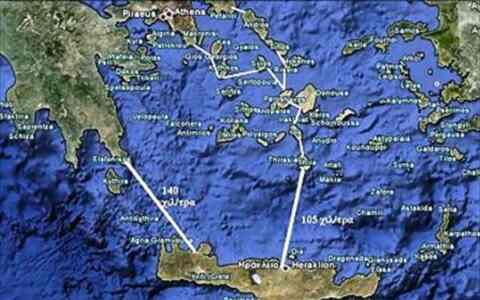 Ακόμη ένα βήμα πιο κοντά στην καλωδιακή σύνδεση των Χανίων με την Πελοπόννησο