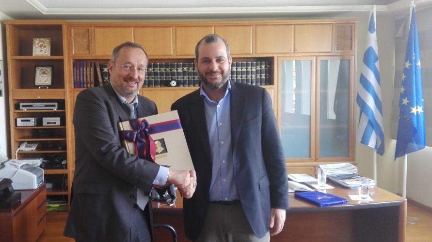 Προοπτικές συνεργασίας σε θέματα τουρισμού και εξωστρέφειας επιχειρήσεων μεταξύ Κρήτης - Γαλλίας