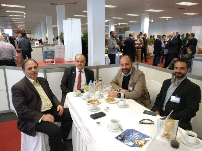 Συνάντηση Μελών της διοίκησης του ΕΒΕΧ με τον Πρόεδρο της ΓΣΕΒΕΕ