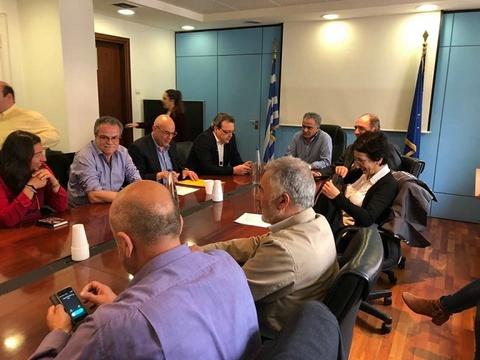 Θετική η αποτίμηση της συνάντησης στην Αθήνα για τα θέματα της ΔΕΔΙΣΑ και την καθαριότητα