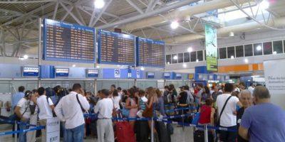 Άγγιξε το 10% η αύξηση στα αεροδρόμια της χώρας το 10μηνο