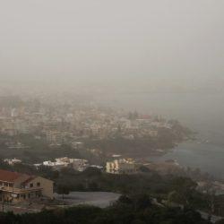 Βροχερό και με σκόνη από την Αφρική το Σαββατοκύριακο στην Κρήτη