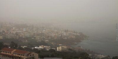 Αυξημένη μέχρι την Πέμπτη στην Κρήτη η αφρικανική σκόνη. Οδηγίες από την Περιφέρεια