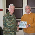 Εθιμοτυπική επίσκεψη του διοικητή του ΠΒΚ στον αντιπεριφερειάρχη Χανίων