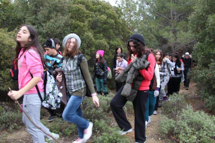Παιδική εξόρμηση του Ορειβατικού Χανίων στο φαράγγι των Μύλων στο Ρέθυμνο