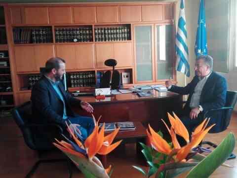 Τον Αντώνη Ροκάκη επισκέφθηκε ο Σταύρος Αρναουτάκης