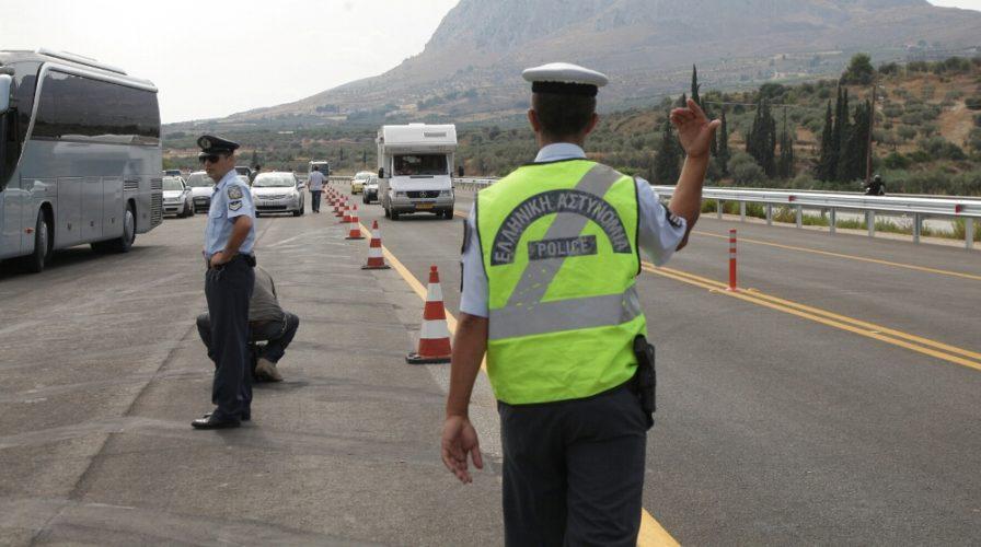 Εντατικοί οι έλεγχοι της Τροχαίας το τετραήμερο του Πάσχα στην Κρήτη