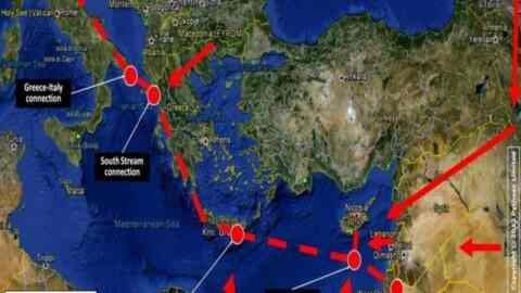 Στον Αθερινόλακο Λασιθίου θα φτάσει ο αγωγός φυσικού αερίου EastMed