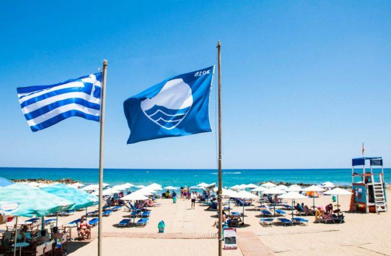 Με 34 γαλάζιες σημαίες τιμήθηκαν φέτος τα Χανιά