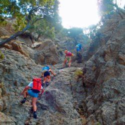 Ο Ορειβατικός από τον Γιους Κάμπο στην κορυφή Κούπο και στο Φαράγγι της Αγίας Φωτιάς στο Ρέθυμνο
