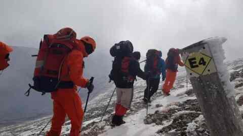 Ο Ορειβατικός από τον Άγιο Κωνσταντίνο στο Άνω Βαλσαμονέρο Ρεθύμνου