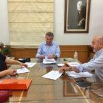 Συνάντηση στην περιφέρεια με τους δημάρχους Σφακίων και Γαύδου