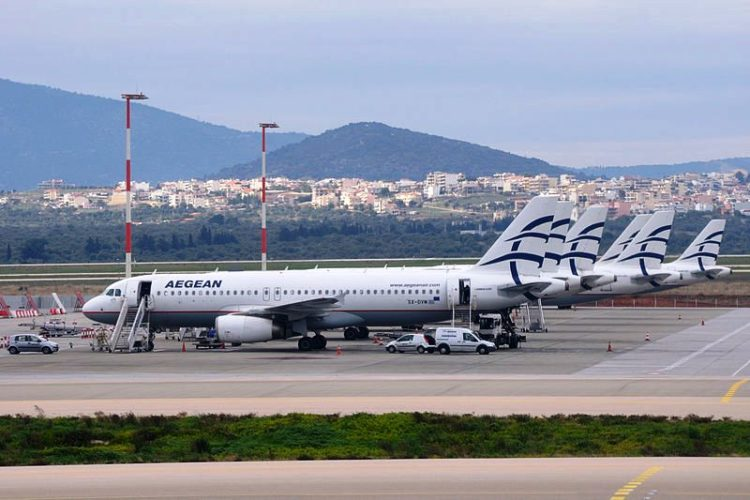 Ακυρώσεις-τροποποιήσεις πτήσεων AEGEAN και Olympic σήμερα και αύριο. Αφορά και τα Χανιά