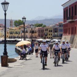 Θετική η συνεισφορά των αστυνομικών με ποδήλατα στην Κρήτη