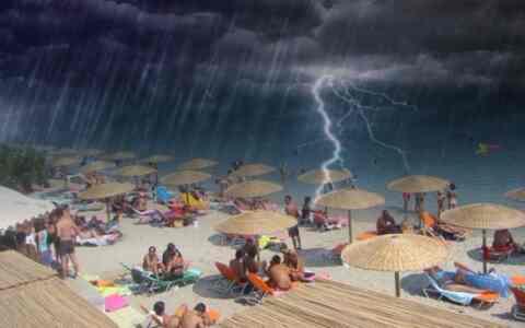 """""""Κυκλοθυμικός μήνας ο Ιούνιος"""": Ζέστη μέχρι την Παρασκευή, βροχές το Σαββατοκύριακο"""