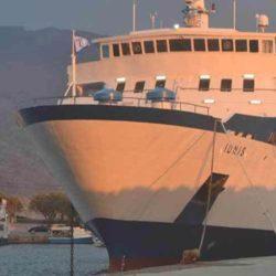 """Το πρόγραμμα δρομολογίων του """"Ιονίς"""" από Κίσαμο προς Πειραιά, για τον Ιανουάριο"""