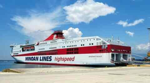 Αλλαγή στο πρόγραμμα δρομολογίων των Μινωικών γραμμών, λόγω της ετήσιας ακινησίας των πλοίων της