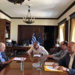 """ΠΕΔ Κρήτης: Εκτενής διάλογος με Υπουργό Εσωτερικών Παν. Σκουρλέτη για τον """"Κλεισθένη 1"""""""