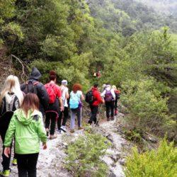 Στην Σπηλιά συνεχίζονται οι δράσεις πεζοπορίας του δήμου Πλατανιά