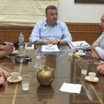Συνάντηση Περιφερειάρχη με εκπροσώπους Επιμελητηρίων της Κρήτης