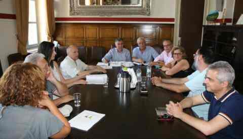 Σύσκεψη για υδατικό δυναμικό της λεκάνης Ταυρωνίτη