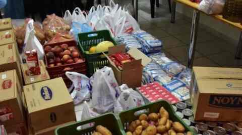 Διανομή τροφίμων στο πλαίσιο του προγράμματος ΤΕΒΑ