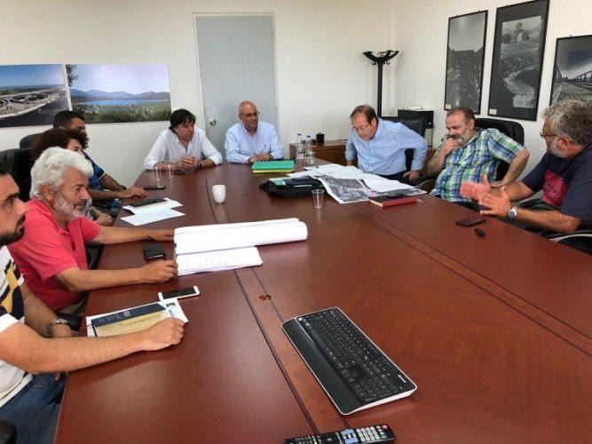 Σύσκεψη για την επιτάχυνση των έργων οδοποιίας στην οδό Ζυμβρακάκηδων