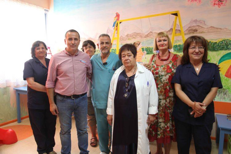 Συμβολή των ΣΥΝ.ΚΑ στην ανακαίνιση της παιδιατρικής κλινικής του νοσοκομείου Χανίων
