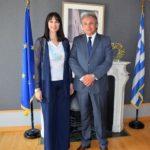 Επαφές για την οργάνωση και προβολή του διεθνούς φόρουμ των πολιτιστικών διαδρομών