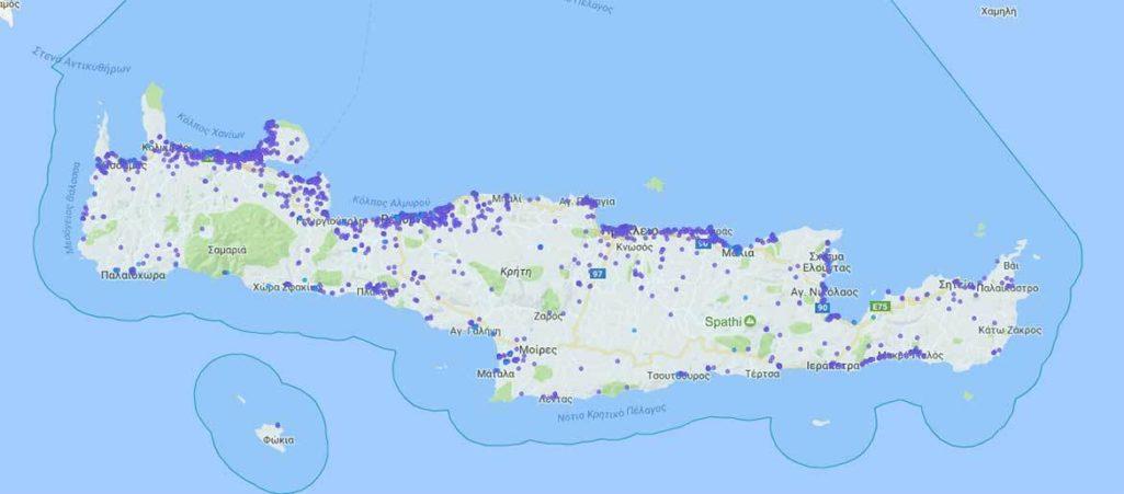 """""""Καλπάζει"""" η AirBNB στην Κρήτη. Περισσότερα από 20.000 ακίνητα διατίθενται μέσω της πλατφόρμας"""