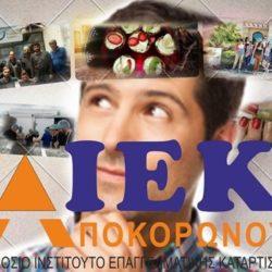 Οι ειδικότητες που θα διδαχθούν στο Δημόσιο ΙΕΚ Αποκορώνου για το 2018 - 19