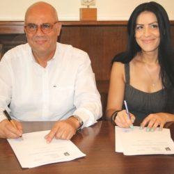 Υπογραφή σύμβασης για έργα οδοποιίας στα Κεραμειά