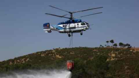 Έρχονται δύο πυροσβεστικά ελικόπτερα στην Κρήτη