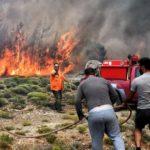 Ευχαριστήριο του Γιάννη Μαλανδράκη για την κατάσβεση της πυρκαγιάς στον Κακόπετρο