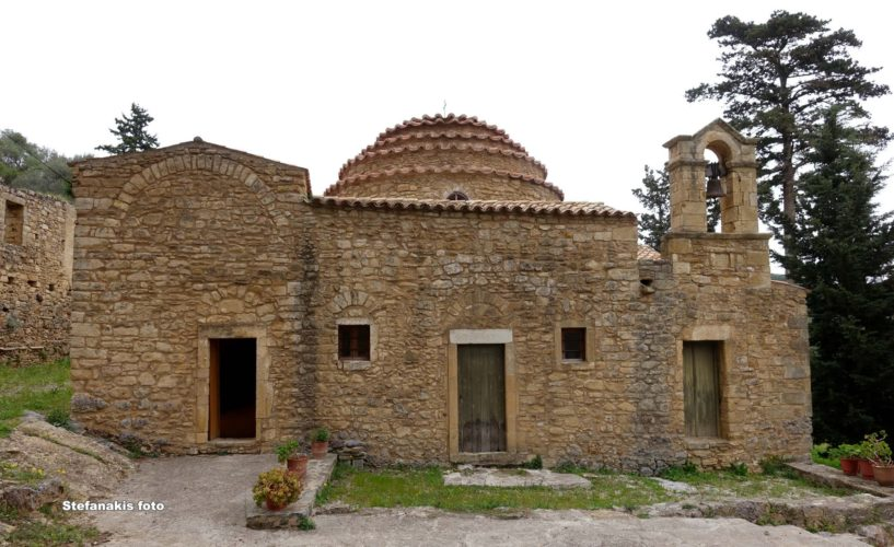 """Επισκέψιμη η """"Ροτόντα"""" της Επισκοπής Κισάμου, ο αρχαιότερος ναός της Κρήτης"""