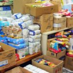 Διανομή τροφίμων στους ωφελούμενος ΤΕΒΑ από την Περιφέρεια