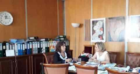 Με τη Θεανώ Φωτίου συναντήθηκε η αντιπεριφερειάρχης κοινωνικής πολιτικής