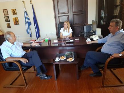 """Συνάντηση για τη δράση """"Διαδρομή Κωνσταντίνος Μητσοτάκης"""" στα Λευκά Όρη"""