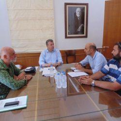 Συνάντηση Περιφερειάρχη με τον Δήμαρχο Καντάνου για τις υποδομές