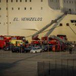Στο Πέραμα ρυμουλκήθηκε το «Βενιζέλος» για να αποκατασταθούν οι ζημιές του
