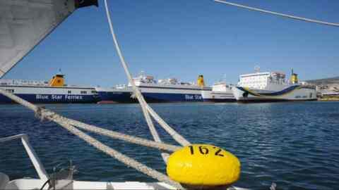 Δεμένα τα πλοία στα λιμάνια την ερχόμενη Τετάρτη 28 Νοεμβρίου