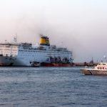 Φωτιά στο γκαράζ του πλοίου «Ελευθέριος Βενιζέλος». Νύχτα θρίλερ για 875 επιβάτες
