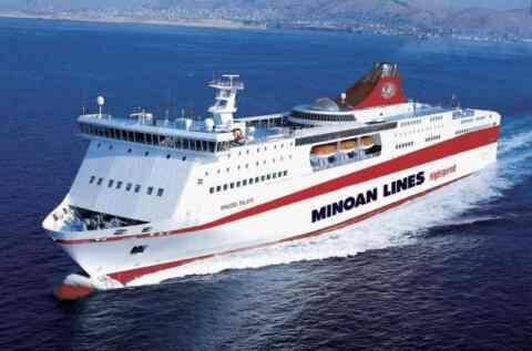 Αλλαγές στα δρομολόγια των Μινωικών γραμμών λόγω της 48ωρης απεργίας των ναυτεργατών