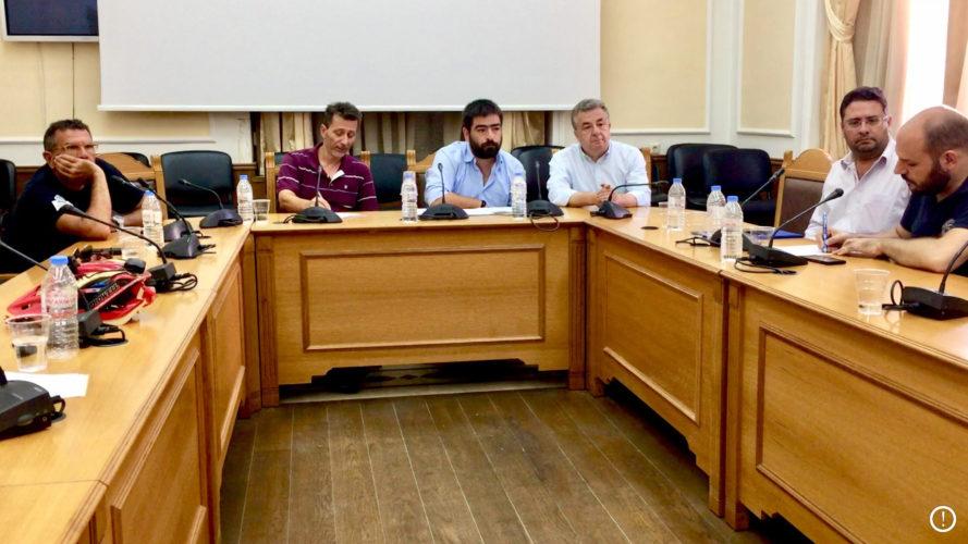 Η Περιφέρεια Κρήτης στηρίζει εθελοντικές ομάδες για την πολιτική προστασία