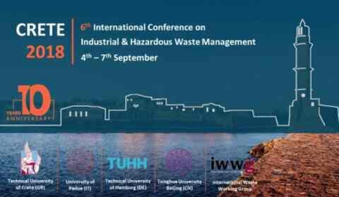 Η Περιφέρεια, στο 6ο συνέδριο για την διαχείριση βιομηχανικών και επικίνδυνων αποβλήτων