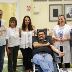 Εθελοντική αιμοδοσία για τους πυρόπληκτους της Αττικής, στον δήμο Χανίων