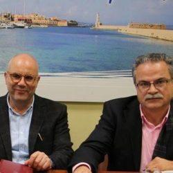 Στην Αθήνα για θέματα των δήμων τους, Βάμβουκας και Μαλανδράκης